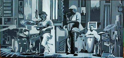 tarde jazz II 70x150