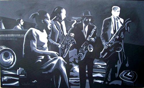 tarde jazz IV 85x140