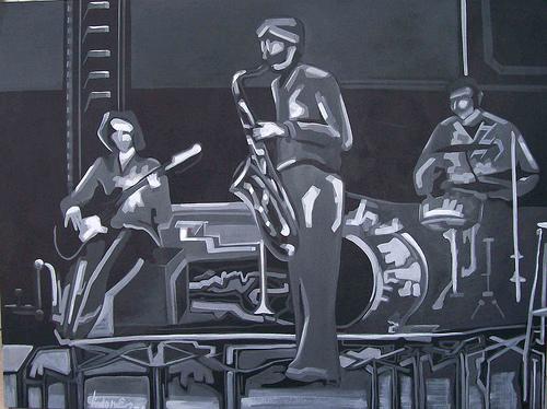 tarde jazz V 90x120 d