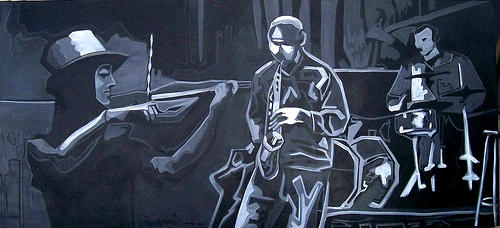 tarde jazz VI 70x155 d