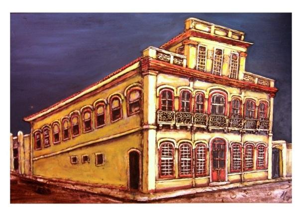 Solar do Conde de PoA Manoel Marques de Souza 1860