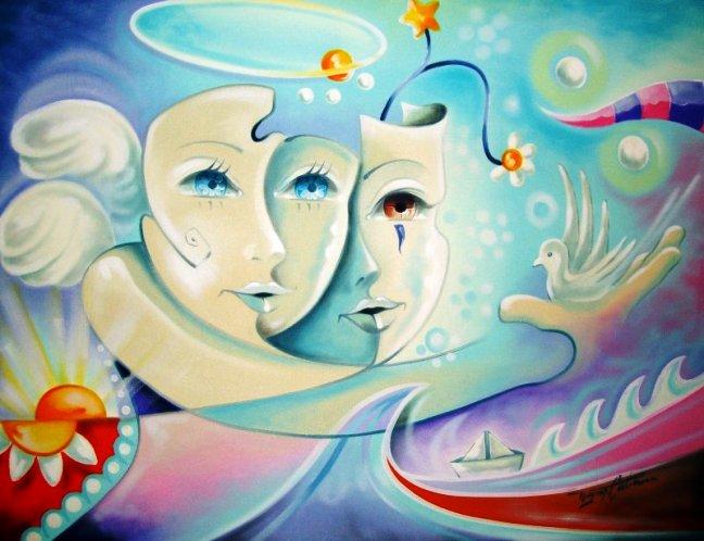 2_os anjos 70x90 cm (óleo sobre tela) r$ 1.800