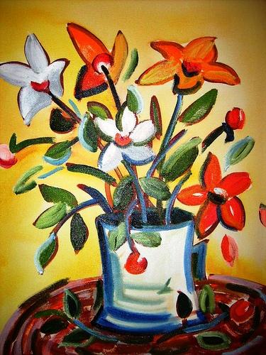 Flores II 50x70