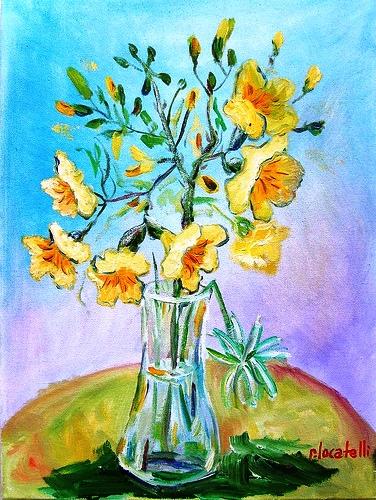Flores III 50x70cm