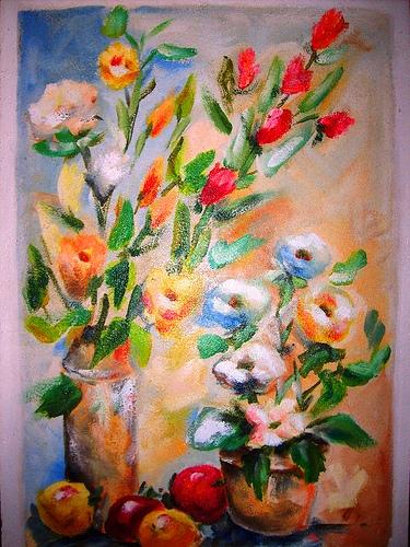 Flores IV 50x70cm
