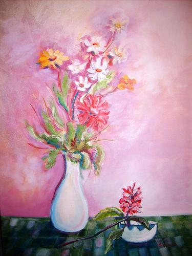 Flores V 50x70cm