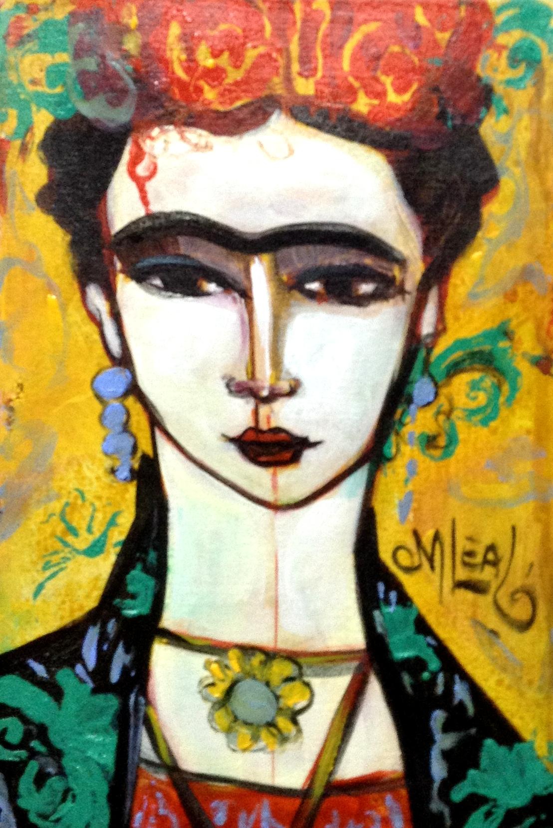 Frida amarela-