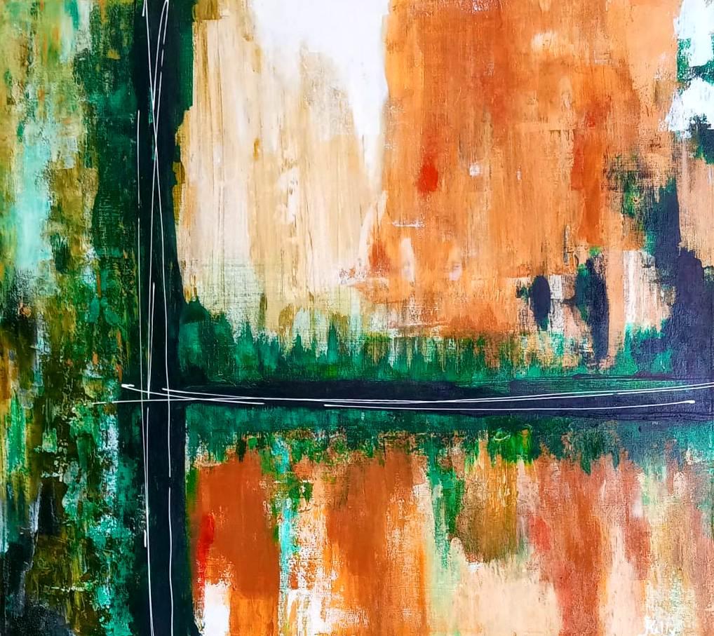Abstrato 4 - 69x76cm