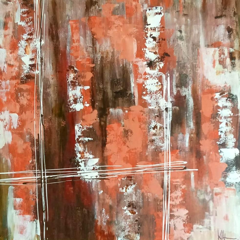 Abstrato 2 - 60x60cm