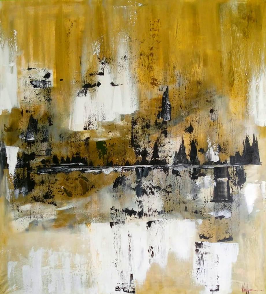 Abstrato 5 - 59x65cm