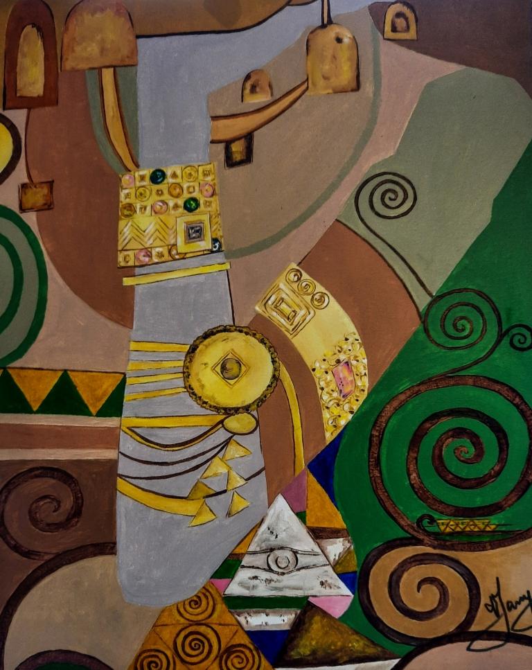 Klimt - Espera 40x50cm