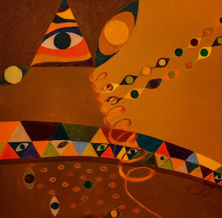 Klimt - Verdade 30x30cm