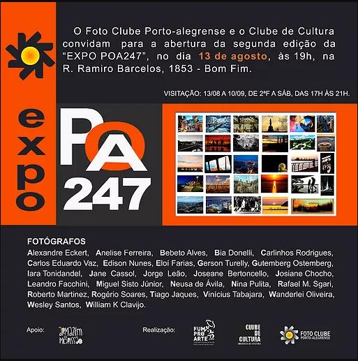 2º edição da Expo POA 247 no Clube de Cultura